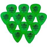 Jim Dunlop Tortex Guitar Picks / Plectrums: 0.88 mm (Pack of 12 Picks)