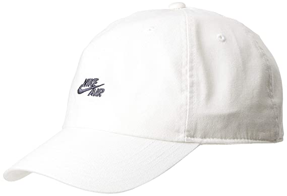 Nike Gorra Air Heritage 86 Blanco Ajustable: Amazon.es: Ropa y ...