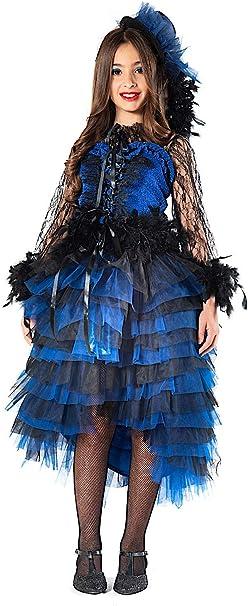 VENEZIANO Disfraz Lady Can Can Baby Vestido Fiesta de Carnaval ...