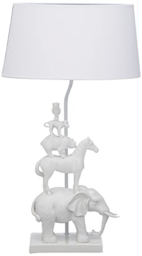 Animal table lamp Child Image Unavailable Beautifulhalo Muno Animal Table Lamp White Tower Left To Ttlw Amazoncouk Lighting