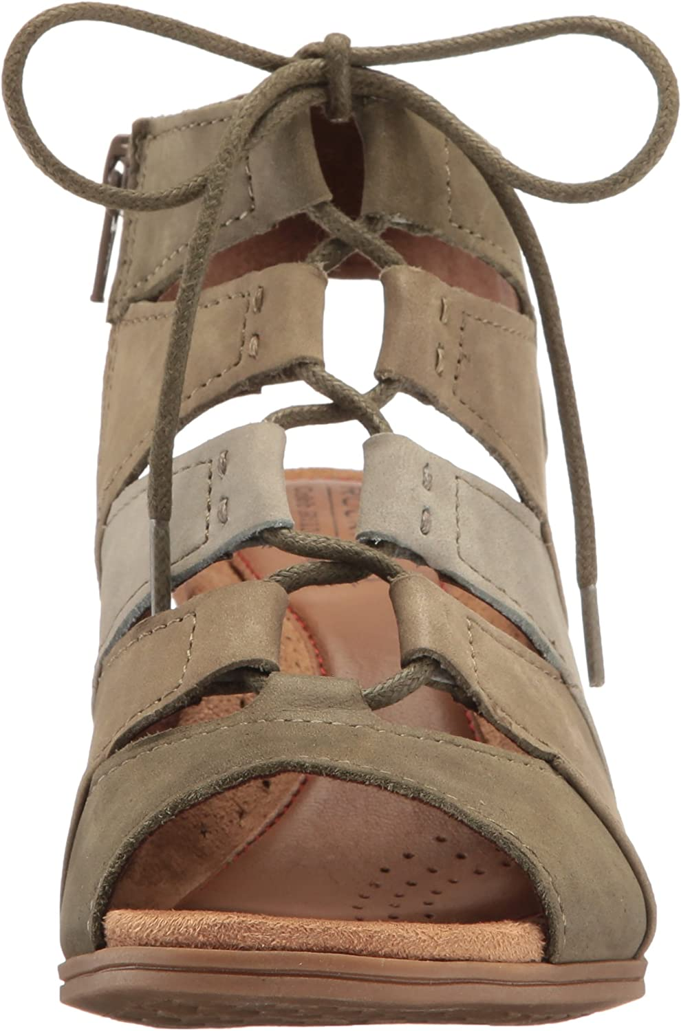 Rockport Womens Hattie Lace Up Sandal Heeled
