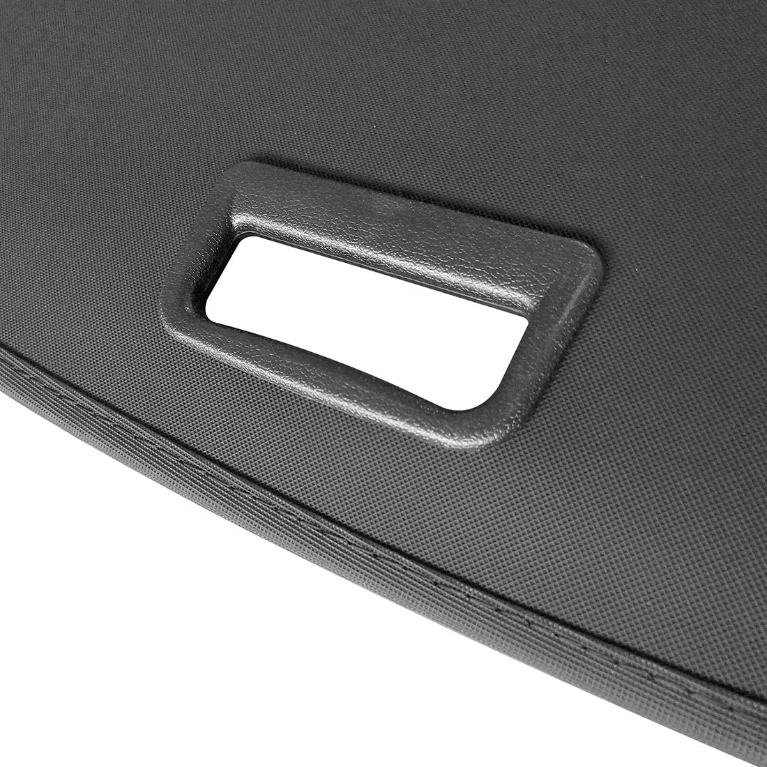 OREALTOOL Black Retractable Cargo Cover Luggage Shade Shield for Subaru Forester 2009-2012 Rear Boot Trunk Parcel Load Shelf Shielding Security Panel Roller Blind