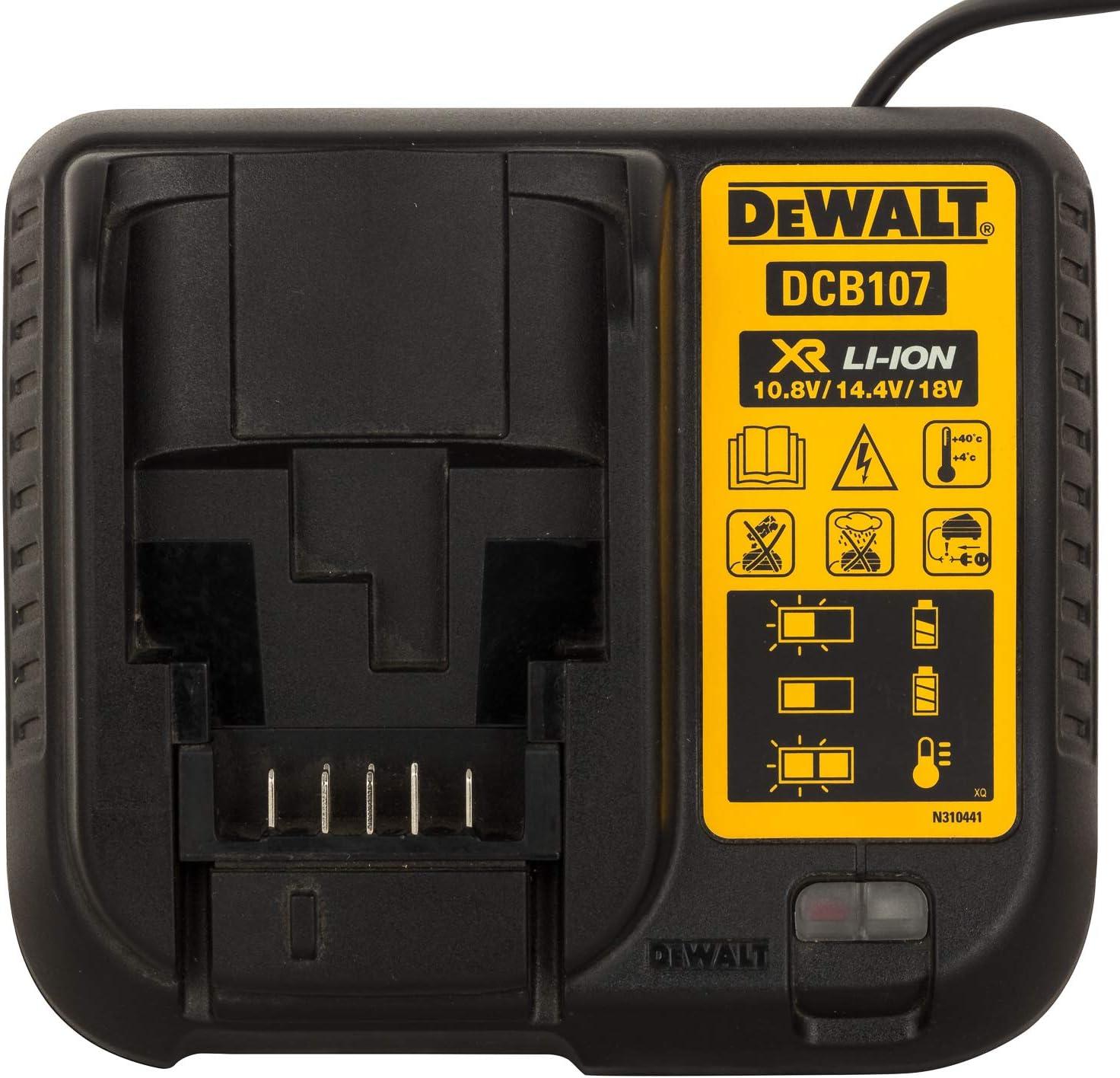 18V Li-Ion Accu oplader DeWalt DCB107 10.8V