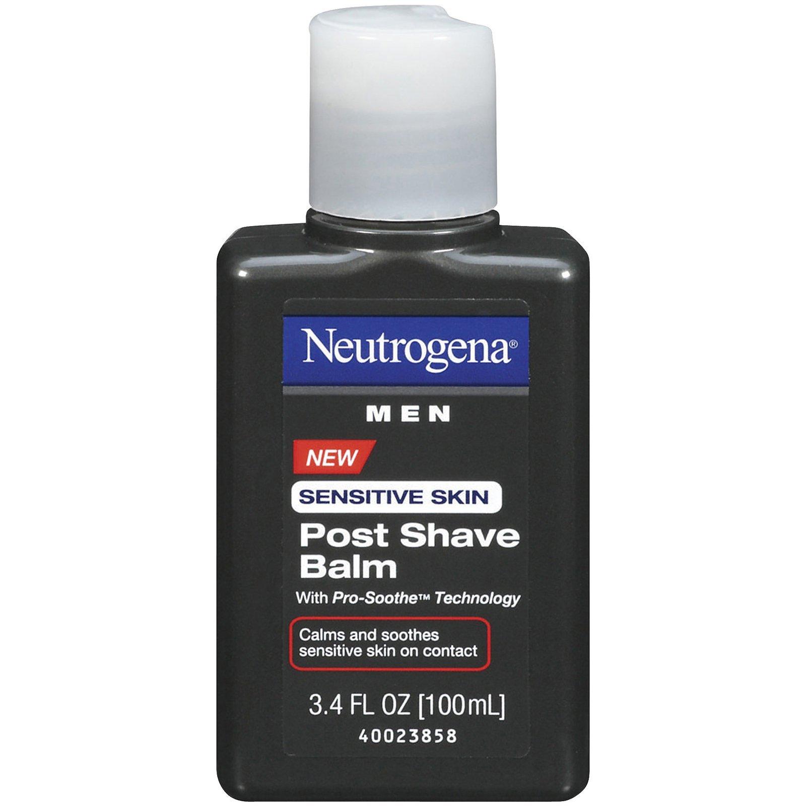 Neutrogena Men Sensitive Skin Post Shave Balm - 3.4 oz