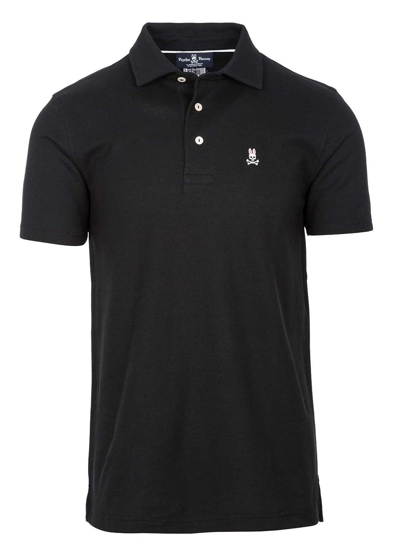 Psycho Bunny Mens Classic 3 Button Polo Shirt At Amazon Mens