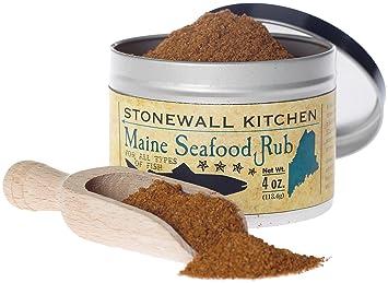 Amazon.com: Stonewall Kitchen Maine Seafood Rub, 4 Ounce Jar