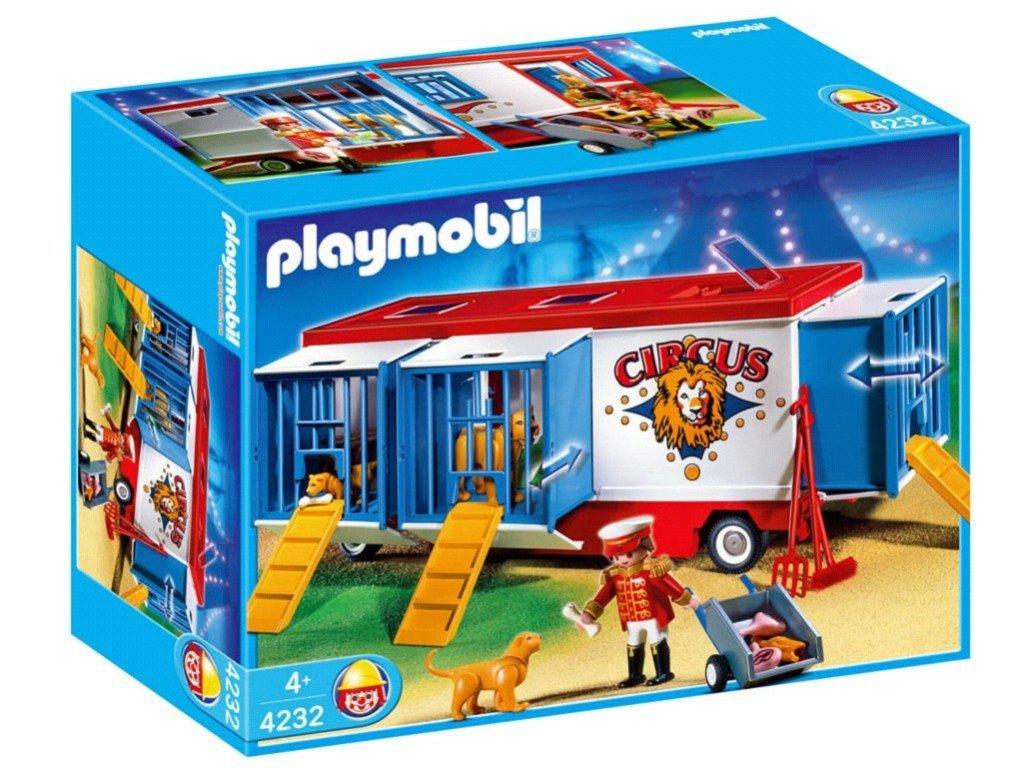 Playmobil - 4232 - Mr Loyal Avec Remorque