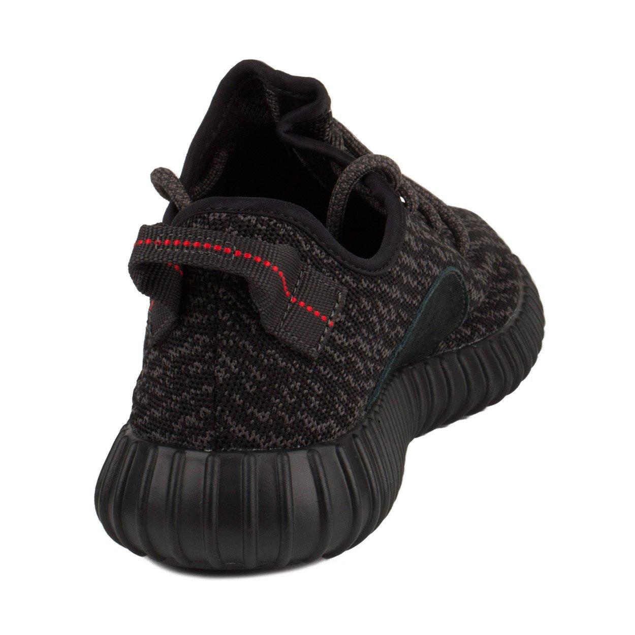 adidas mens yeezy impulso 350 tessuto nero (s (m)) (le scarpe).
