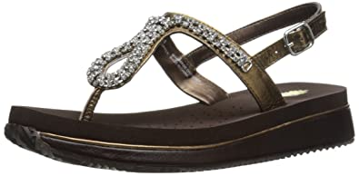 f98bd4940d6967 Volatile Women s Jeweled Wedge Sandal
