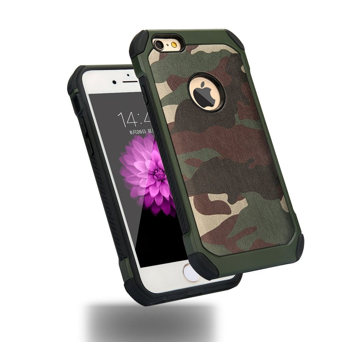 new styles 8940c a753d iPhone 5 5S SE Army Case by C63® Military Camouflage Hard Protective Army  Case Cover