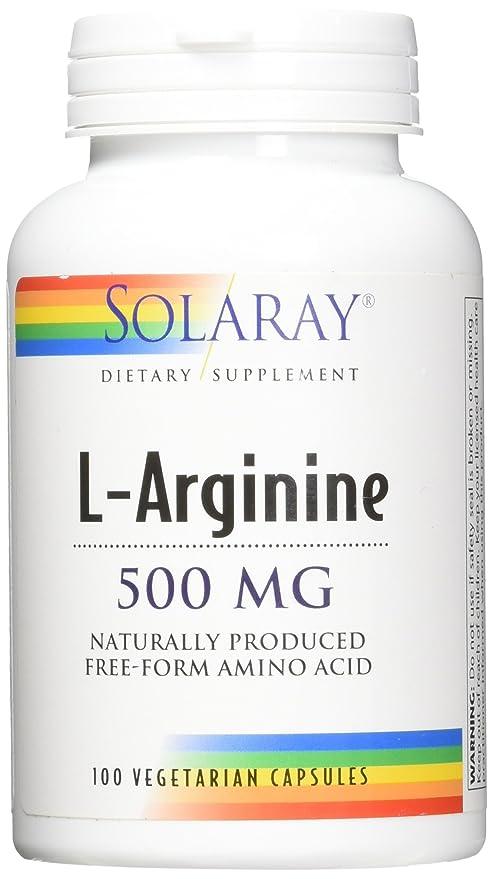 Solaray, L-Arginine 500mg 100 tapas