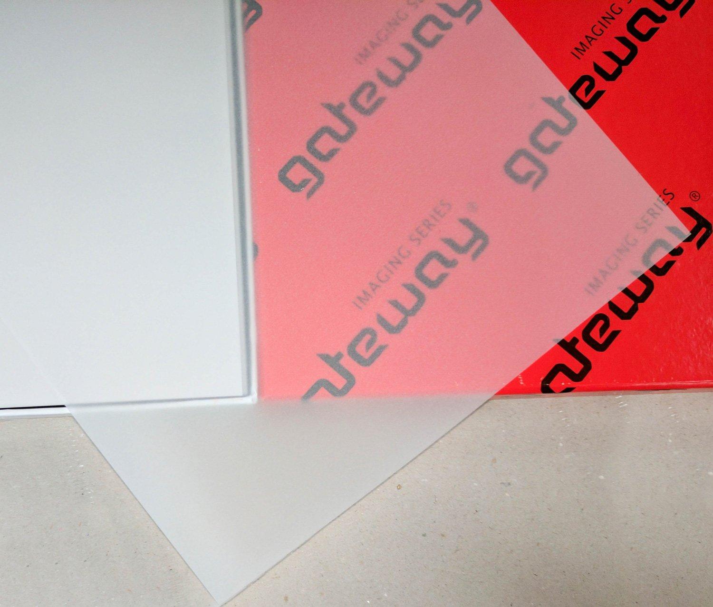 Gateway 63G/mq, formato A4, colore: trasparente-Carta da ricalco, confezione da 50 41012104