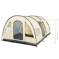 CampFeuer - Big Tunnel-Tent, Ecru / Grey, 5000 mm