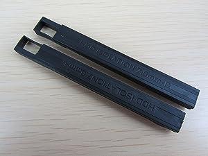 Replacement for Dell Latitude E6330 E6530 E6430 E6540 E6440 E5440 7mm Hard Drive Rubber Rail