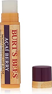 product image for Burt's Bees 100% Natural Moisturizing Lip Balm, Acai Berry with Beeswax & Fruit Extracts - 1 Tube