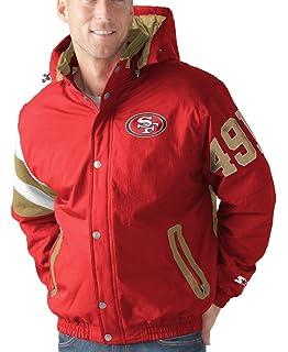 26714115 Amazon.com : WOMEN LADIES San Francisco 49ers GOLD Satin Jacket ...