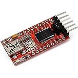 HaoYiShang FT232RL FTDI USB zu TTL Seriell Adapter Modul für Arduino Pro Mini Port 3,3 V 5,5 V