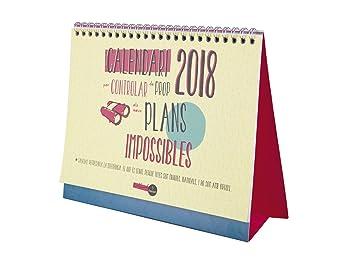 Finocam Talkual - Calendario de sobremesa 2018, catalán, 210 x 150 mm, 120 g/m²