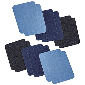 Dsaren Termoadhesivos Parches Denim Patch Parches para ropa ...