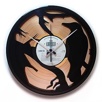 """Disc o clock reloj de pared de vinilo """"de ..."""
