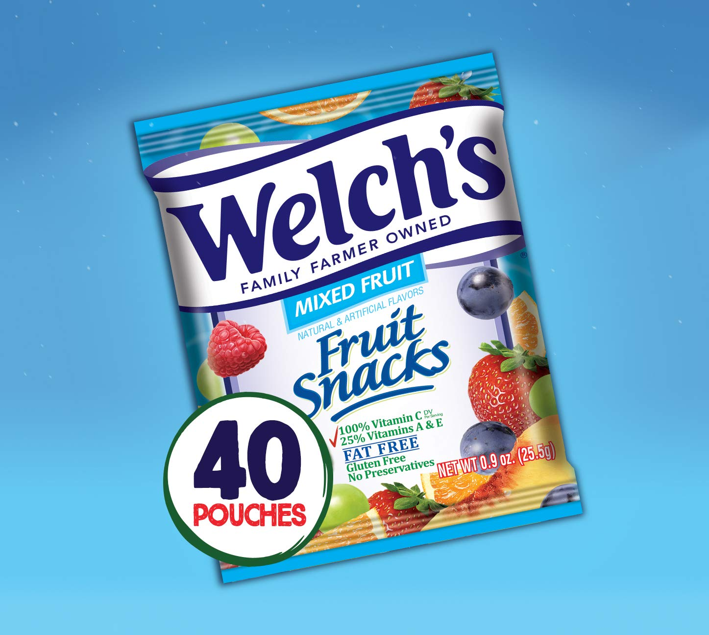 Welch's Mixed Fruit Snacks, 0.9 Ounce (40 Count) by Welch's (Image #4)