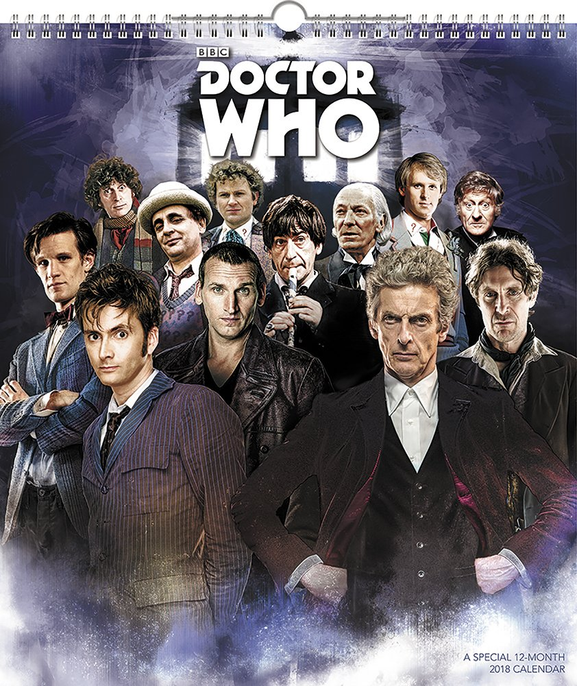 2018 Special Edition Doctor Who Calendar (Day Dream)