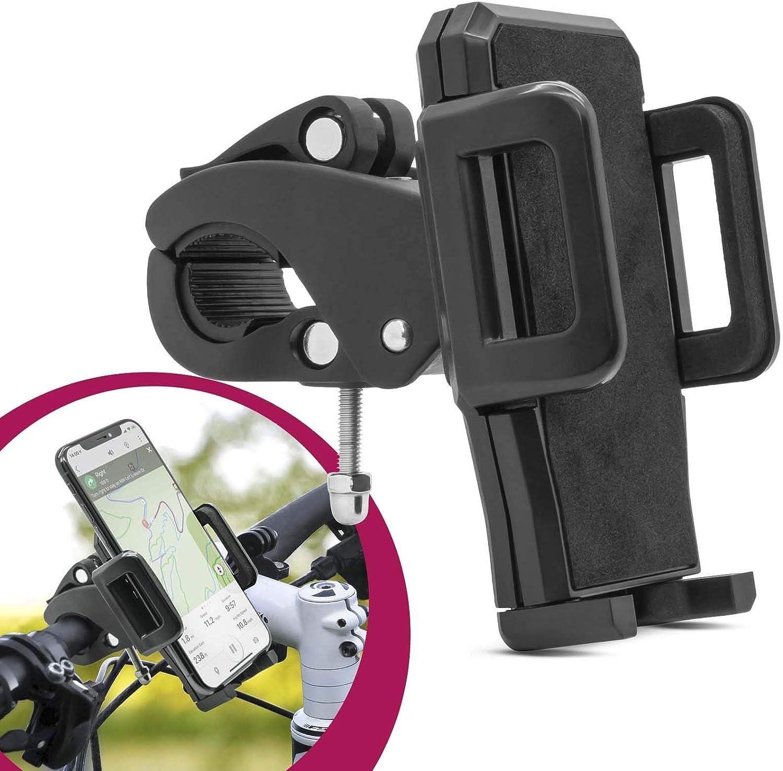 Mobilefox Fahrrad Handy Halterung Lenker Halter Für Huawei P40 P30 P20 Pro P10 P9 P8 Lite