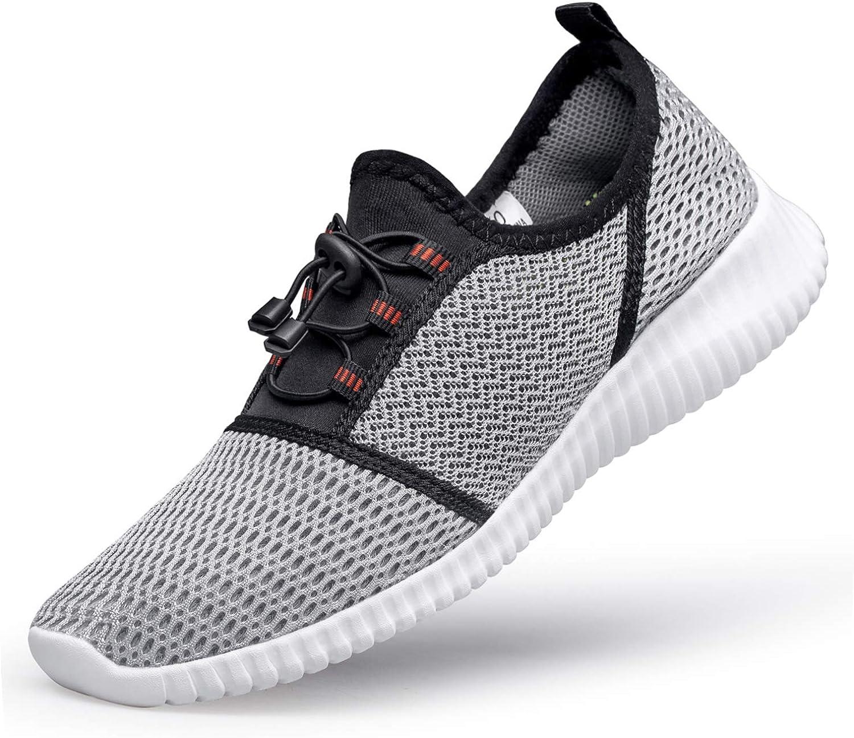 Zapatillas Deportivas de Hombres Mujeres Slip On Zapatos Casuales Cómodos y Transpirables para Caminar Correr Gimnasio: Amazon.es: Zapatos y complementos