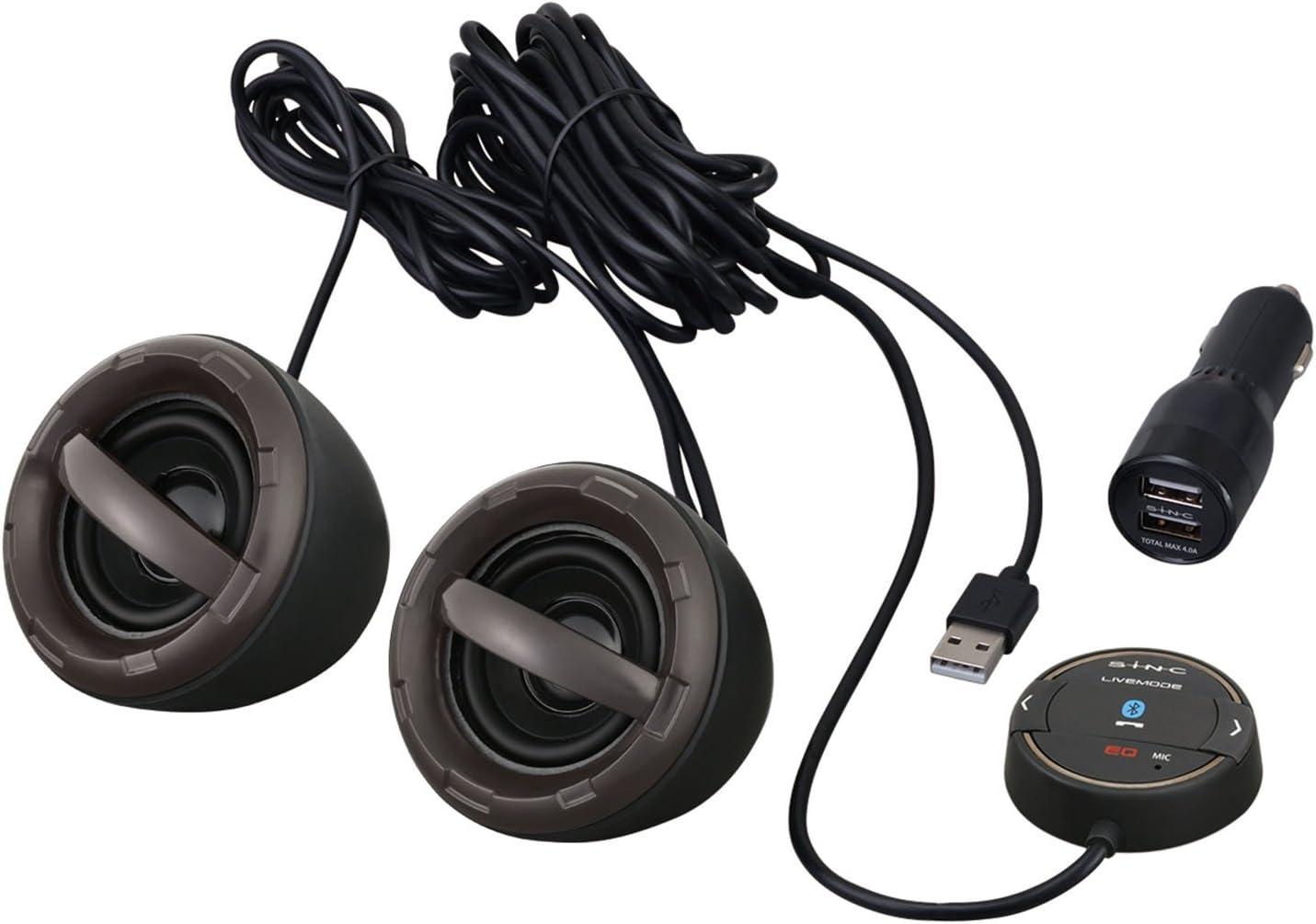SEIWA 車用 Bluetooth サウンドセンサースピーカー BT900