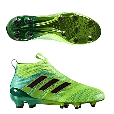new concept bf29c 91107 Amazon.com | adidas Kids Ace 17+ Purecontrol Fg Solar Green ...