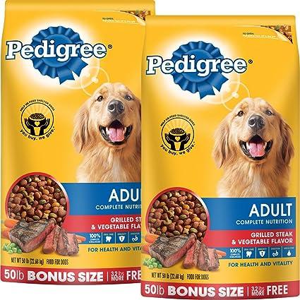 Pedigree Small Breed Adult Dry Dog Food Standard Packaging Steak