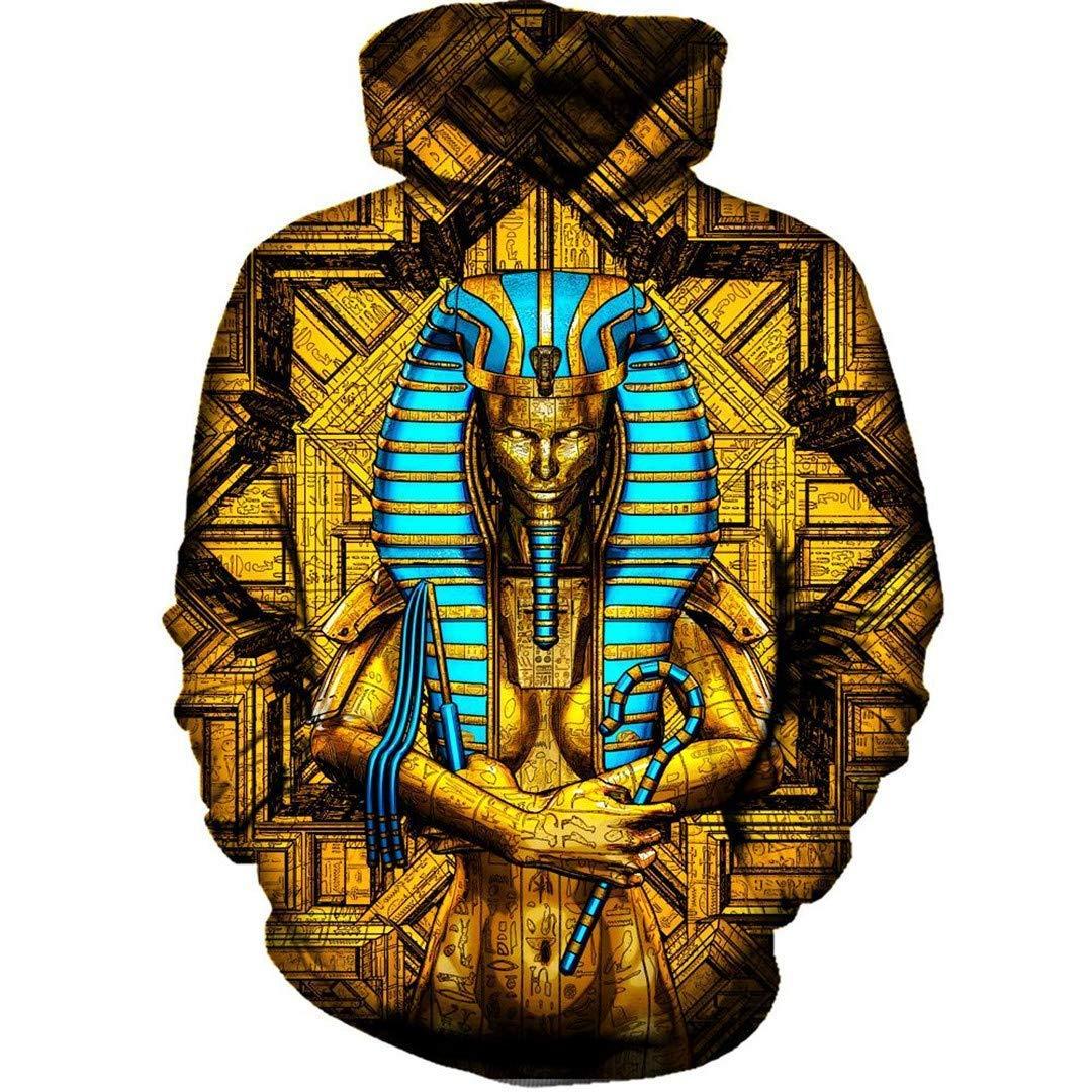 Amazon com: Casual Sacred Queen Pharaoh Hoodies Men Women