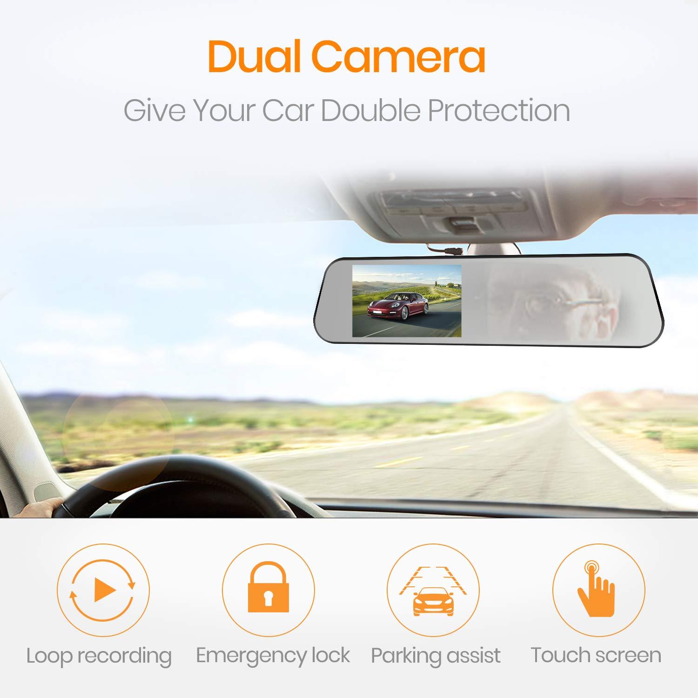 Boscam Mirror Dash Cam Fhd 1080p Waterproof Reverse Camera Wiring Gu Patrol Free Download Diagrams Electronics
