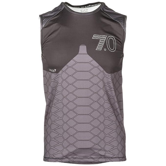 7e90f720171d Emporio Armani EA7 Men Tank top Nero M  Amazon.ca  Clothing   Accessories