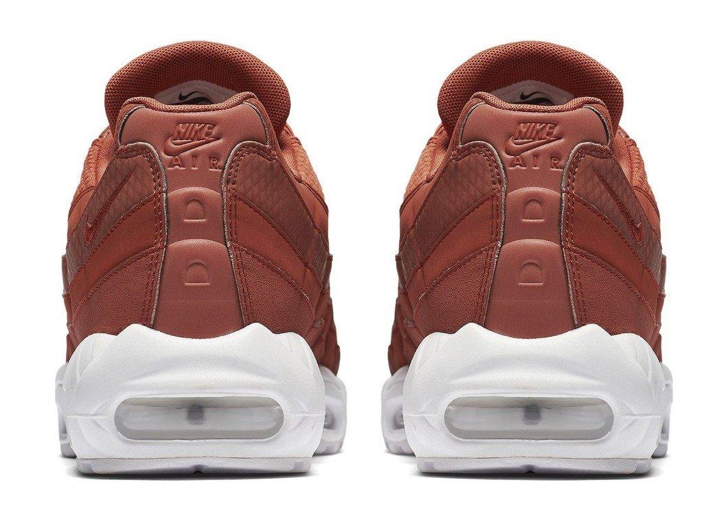 Nike Air Max 95 Premium SE Men Dusty Peach White 924478-200 (11.5) by Nike (Image #4)