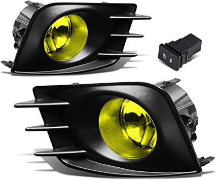 Scion TC 11-13 Clear Fog Lights w// Wiring Switch Outer Bumper Light