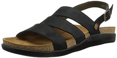 orologio dc360 16de5 El Naturalista Men's N5099 Pleasant Black/Koi Flat Sandal