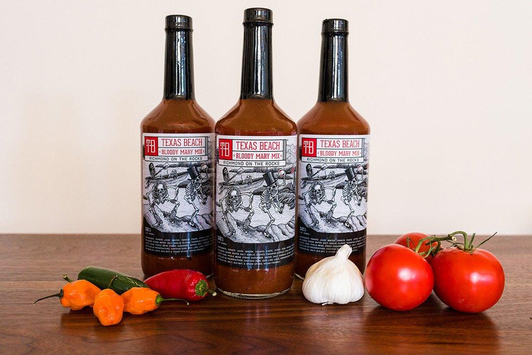 Texas Beach Bloody Mary Mix - Award Winning - 3 Bottles