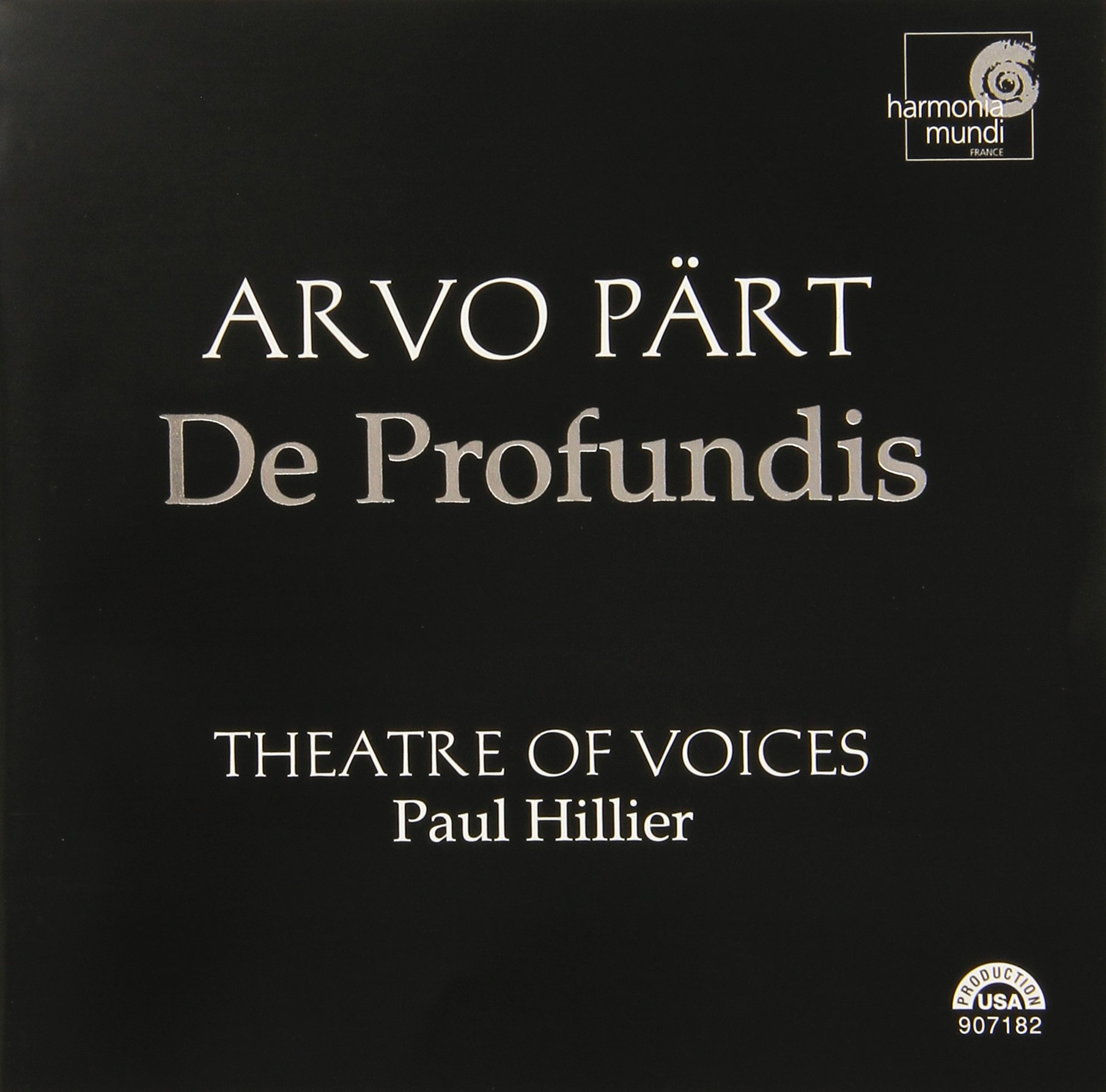 Part: De Profundis by Harmonia Mundi France