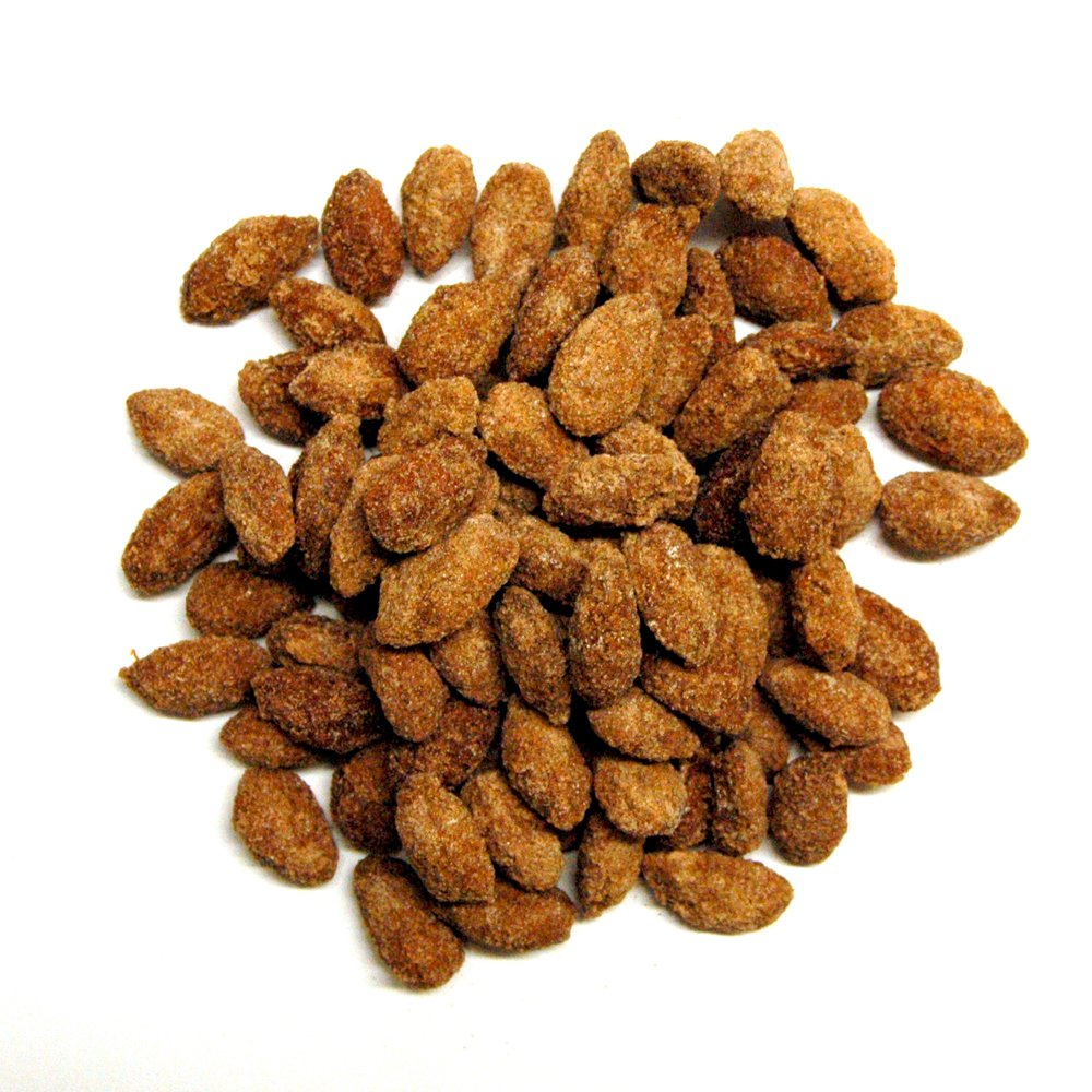 Carolyn's Handmade Cinnamon Almonds Bulk, 480 Ounce (=30lbs)