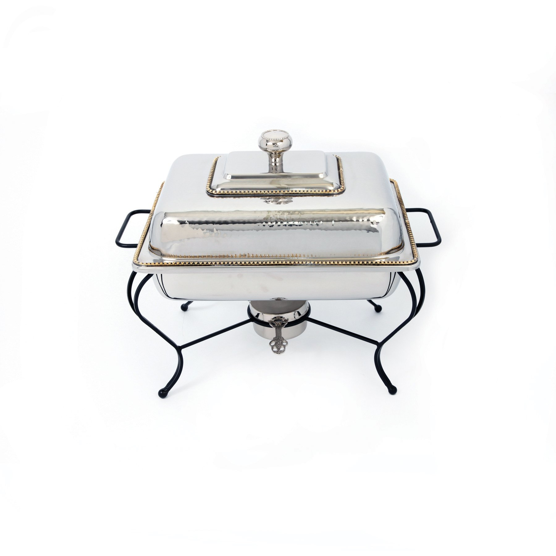 Star Home 6-Quart Rectangle Stainless Steel Chafing Dish