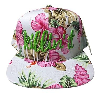 f79d1a63a26 Gotta Love It! Killin  It Hawaiian Floral Snapback Hat at Amazon ...