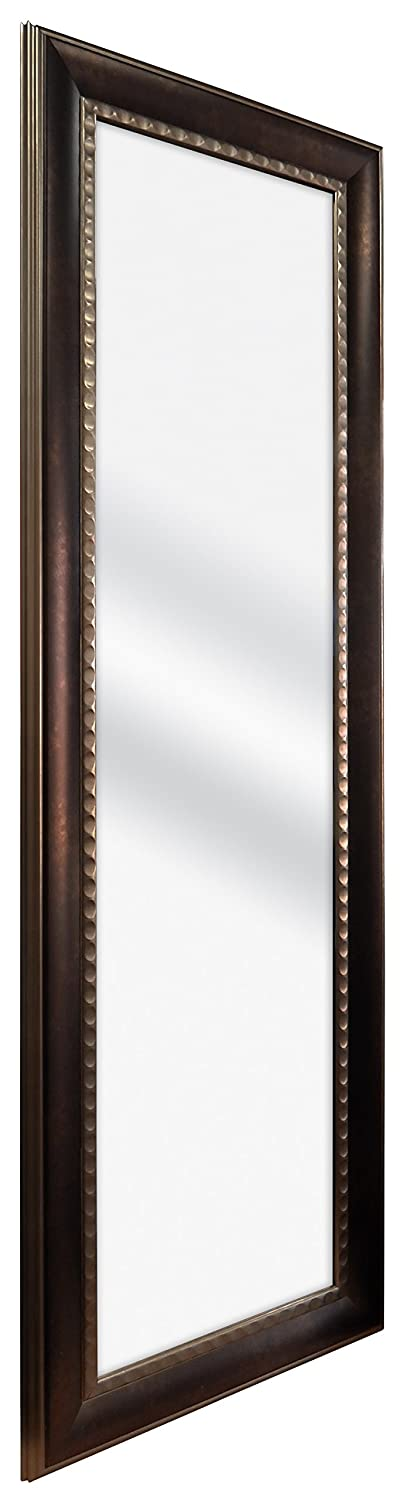 Two-Tone Bronze MCS 12 by 48-Inch Over The Door Mirror 18 by 54-Inch