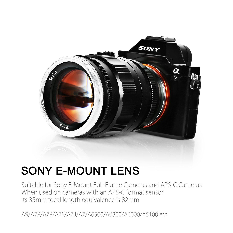 Kamlan 55mm F1.2 APS-C/ Full-Frame Große Blende: Amazon.de: Kamera