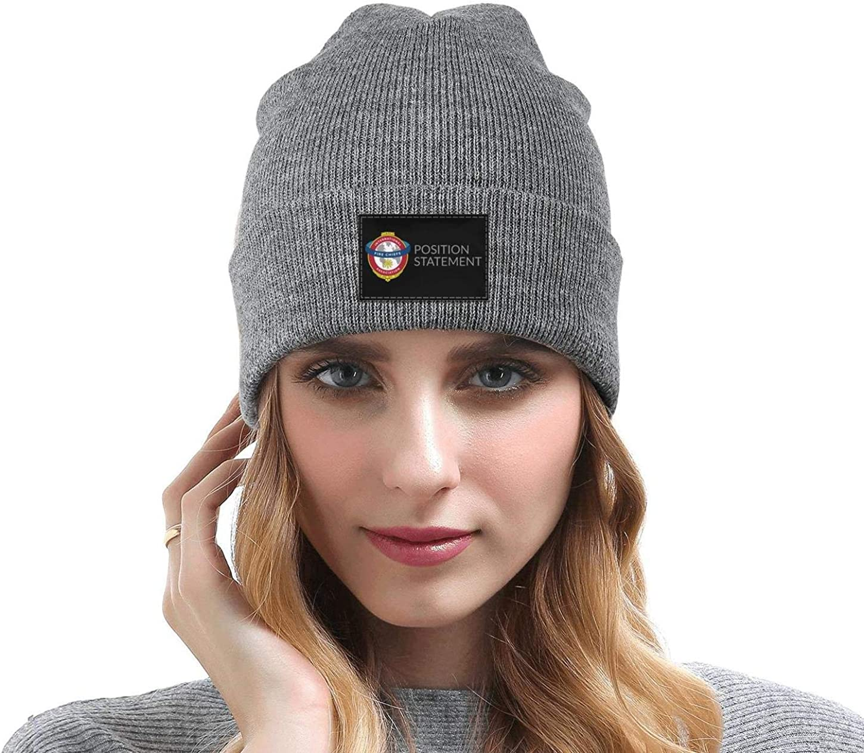 DXQIANG IAFC-Position-Statement Men Women Fine Knit Beanies Hat Multifunction Skull Knit Cap
