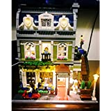 LED Lighting Set For Creator 10243 Parisian Restaurant Building Blocks Toy Compatible With Lego (NOT Included The Model Set)