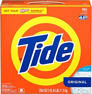 Product of Tide HE Ultra Powder Laundry Detergent (254 oz, 180 loads) - Laundry Detergents [Bulk Savings]