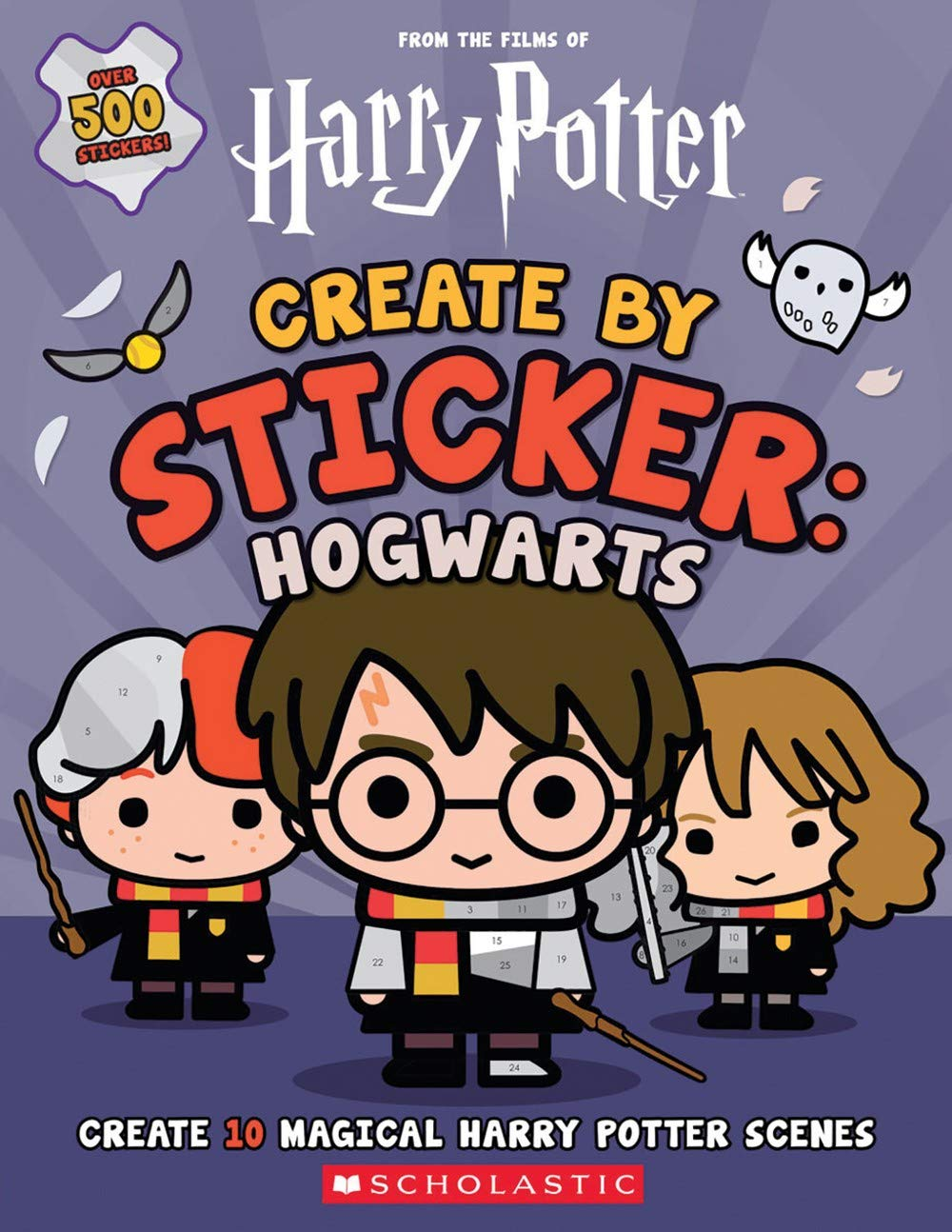 Create by Sticker: Hogwarts From the Films of Harry Potter ...