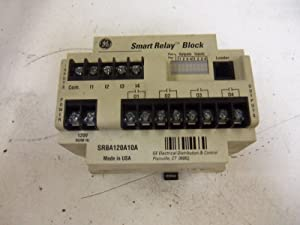 General Electric SRBA120A10A Smart Relay Block 120V 50/60Hz
