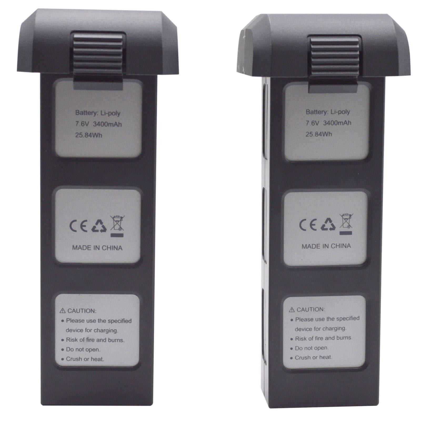 2 Baterias para D88 EX3 JJRC X11 MJX Bugs 4W RC Drone B4W Ba